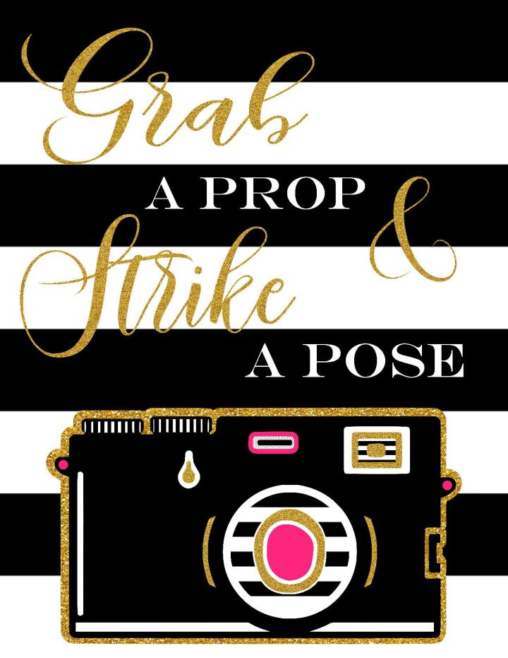 Photo Booth Prop SignPrintable